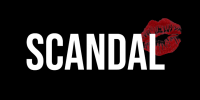 Scandal logo (black background)